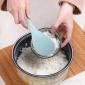 山西�x城��煲�勺子不粘米���勺塑料�勺����瓢米家用盛�勺小�P子�r格